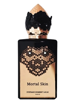 MORTAL SKIN by 777 5ml Travel Spray Perfume SHL Blackberry Myrrh Incense