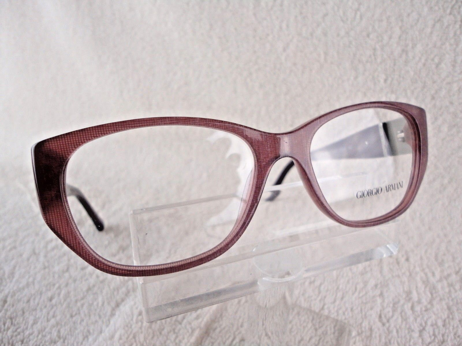 Primary image for Giorgio Armani AR 7016-H (5157) Cherry Fabric  53 X 16 140mm Eyeglass Frame