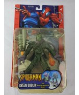 Marvel Spiderman Greeb Goblin With Missile Launching Glider Toy Biz 2003... - $22.99