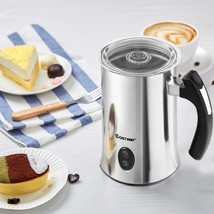 Electric Automatic Milk Frother with Hot or Cold Milk - $91.94 CAD