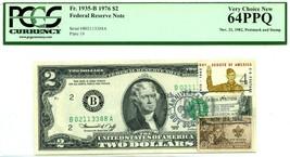 $2 DOLLARS 1976 STAMP CANCEL COLISEUM NY NY LUCKY MONEY VALUE $1976 - $1,778.40