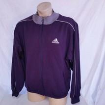 VTG 90s Adidas Track Jacket EQT Running Coat Olympic Sport Sweatsuit Boo... - $45.99