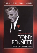 CLINT EASTWOOD PRESENTS TONY BENNETT: THE MUSIC NEVER ENDS NEW DVD - $25.40