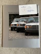1983 Mercedes-Benz 300 CD/300 SD/380 SEL Dealership Car Auto Brochure Catalog - $15.83