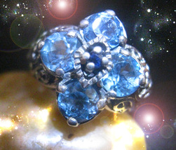 Haunted Ring Masters Eliminate The Past From Affecting The Present Ooak Magick - $9,133.77