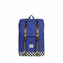 Herschel Kids' Retreat Youth Backpack, Deep Ultramatine/Checker/Woodland... - $77.19