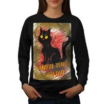 Spy Cat Jumper Animals Women Sweatshirt - $18.99