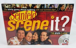 Seinfeld Scene It Trivia DVD Board Game by Mattel 2008 Party Family NEW ... - $19.63
