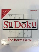 Sudoku The Board Game By Pressman - $7.50