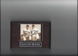 Nolan Ryan & Tom Seaver Plaque Baseball New York Mets Ny Mlb - $2.96