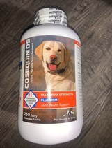 Cosequin Maximum Strength MSM Dogs All Sizes (250 Chewable Tablet) NEW 0... - $42.00