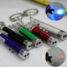 2 In1 Mini Red Laser Pointer Pen With White LED Light Child Pet Cat Toy ... - $2.72