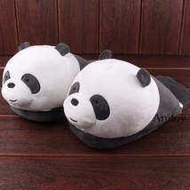 We Bare Bears Cartoon Bear Grizzly Panda Ice Bear Adult Plush Slippers Winter In image 4