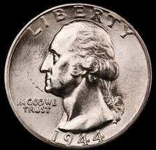1944 Washington Quarter-Choice Gem Brilliant Uncirculated Luster.  20200167 - $29.99