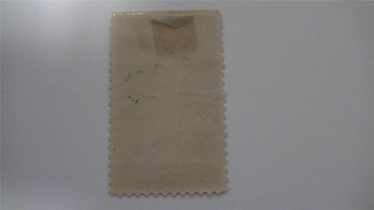 Vintage John Ericsson Memorial Gray Lilac USA Mint Hinged 5 Cent Stamp