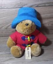 "Vtg Paddington Plush Teddy Bears 16"" Eden Toys Inc Darkest Peru with han... - $19.78"