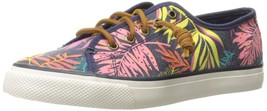 Sperry Top-Sider Women's Seacoast Fashion Sneaker Pink/Multi 9 M US - $44.50