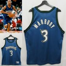 Champion Stephon Marbury Minnesota Timberwolves NBA Jersey (48/XL) - $74.24