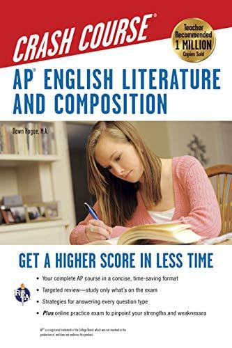 Primary image for AP® English Literature & Composition Crash Course Book + Online: Get a Higher Sc