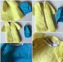 Vintage Barbie Skipper vest and robe or coat SKU 049-87 - $13.49