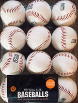 Dicks Official Size Baseballs 12 pack for pitching/fielding - $45.88