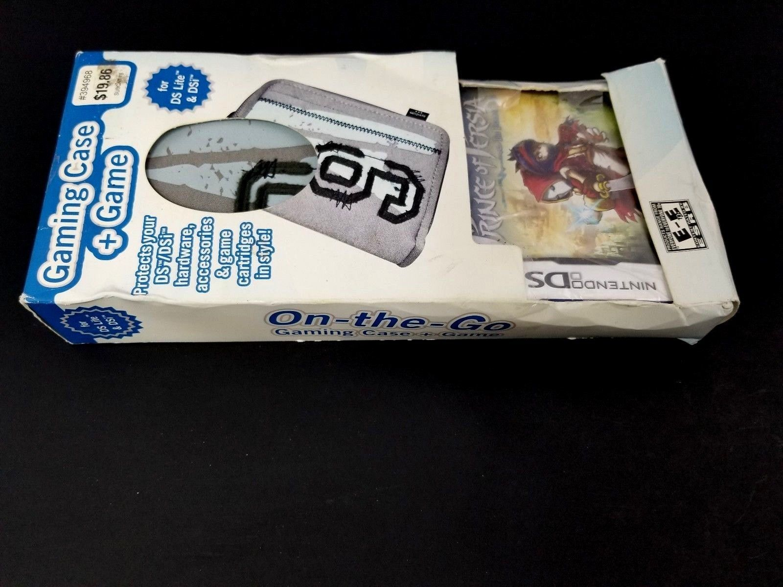 Nintendo DS Lite & DSI On the Go Gaming Case + Game Prince of Persia DS Game New