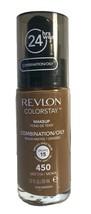 Revlon Colorstay 24 Hr Foundation Makeup Combination Oily Skin, 450 Mocha - $7.94