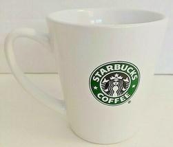 STARBUCKS Green & Black Mermaid Collectible Ceramic Coffee Cup Mug 2007-... - $17.82