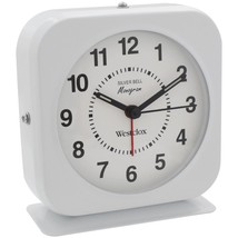 Westclox 15600QA Bell Alarm Clock with Metal Case - $26.56