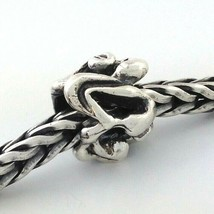 Authentic Trollbeads Sterling Silver Brew of the Moor Bead Charm 11146, New - $18.99