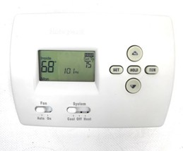 HONEYWELL PRO 4000 Thermostat Digital 5-2 Day Heat/Cold Screws Pre-Owned - €16,03 EUR
