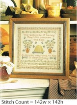 THE PEDIGREE OF HONEY  -  CROSS STITCH PATTERN ONLY -   PA - PPYE - $8.66