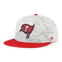 NFL Tampa Bay Buccaneers Stretch Fit Hat L/XL New Team Logo Red - $25.69