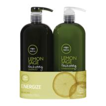 Paul Mitchell Arbre de Thé Citron Shampooing Sauge, Après-shampooing Litre Duo - $73.13+