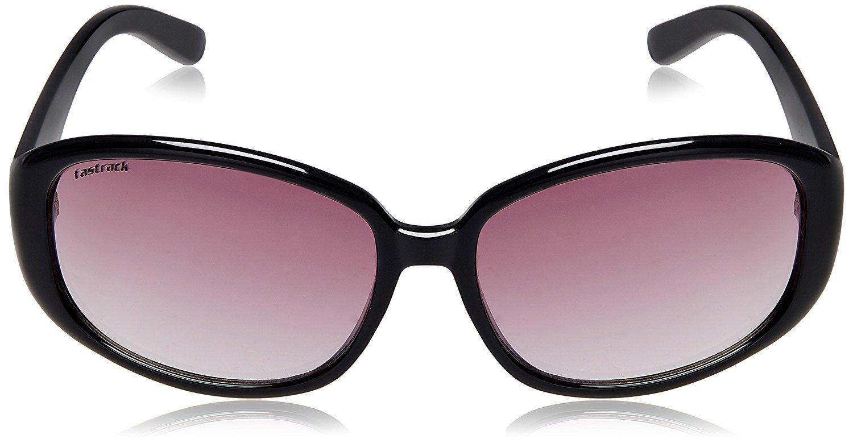Fastrack Oval Unisex Sunglasses - (P185PR2F|54|Pink)