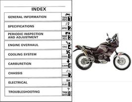 1989-1996 Yamaha Super Tenere 750 ( XTZ750 ) Service Manual on a CD - $12.99