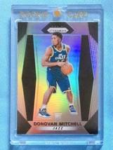 NBA 2017-18 Donovan Mitchell RC silver prism PANINI RARE basketball premium - $557.37