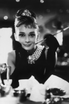 Audrey Hepburn in Breakfast at Tiffany's Iconic Smiling Pose With Cigare... - $23.99