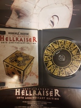 Hellraiser 20th Anniversary Best Buy Exclusive complete with poster DVD image 2