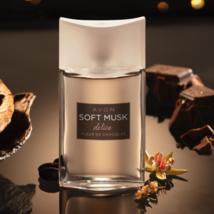 Avon SOFT MUSK delice FLEUR DE CHOCOLAT 1.7oz 50ml Women's Eau de Cologne - $23.90