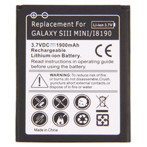 Replacement Internal 1900mAh Battery for Samsung Galaxy S3 s III Mini New usa - $12.99
