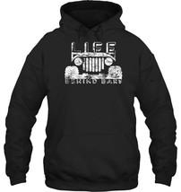 Life Behind Bars Jeep Outdoor Life Distressed Hoodie - $34.99+