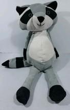 "** Racoon Cordory Manhattan toy company stuffed animals 14"" Grey white B... - $14.36"