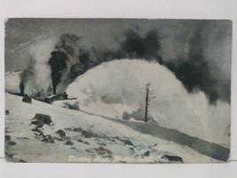 Moffat Road Colo. Colorado Mountains Postcard Train Bucking Snow 1909 - $26.13