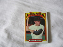 1972 Topps Baseball CARD#147 Dave Kingman Rookie Near NM-/NM Giants - $3.66