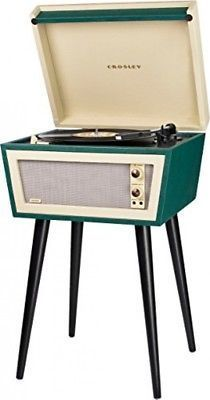Sterling mid century modern record player   angle