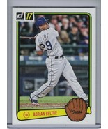 ADRIAN BELTRE 2017 Donruss '83 Retro Variation #RV-36 (E3216) - $1.76
