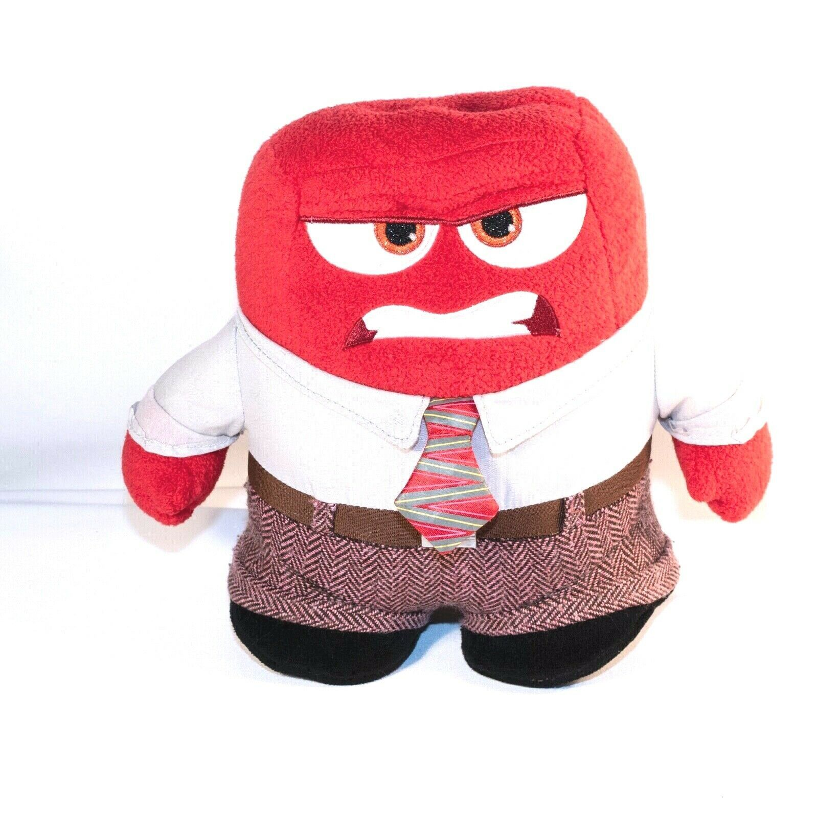 """Disney Pixar Inside Out ANGER 7"""" Plush ANGRY RED"""