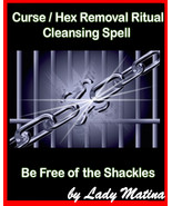 Curse / Hex Removal Ancient Ritual . Cleansing Spell - Be Free of the Sh... - $66.00