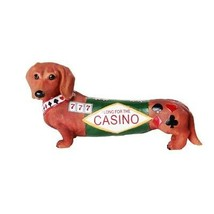 Pacific Giftware Adorable Doxies Collection Casino Long Shot Dachshund Hot - $17.81